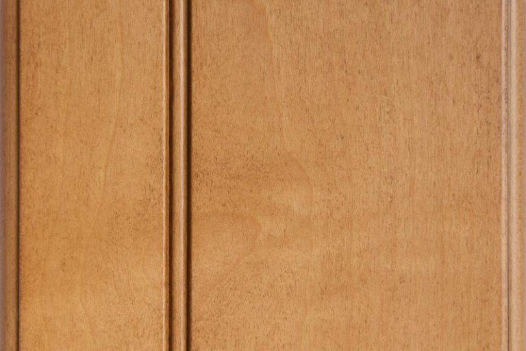 Briarwood Glazed Stain on Hard Maple wood