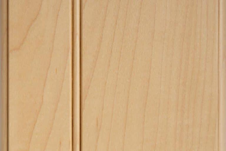 Caramel Glazed Stain on Hard Maple wood
