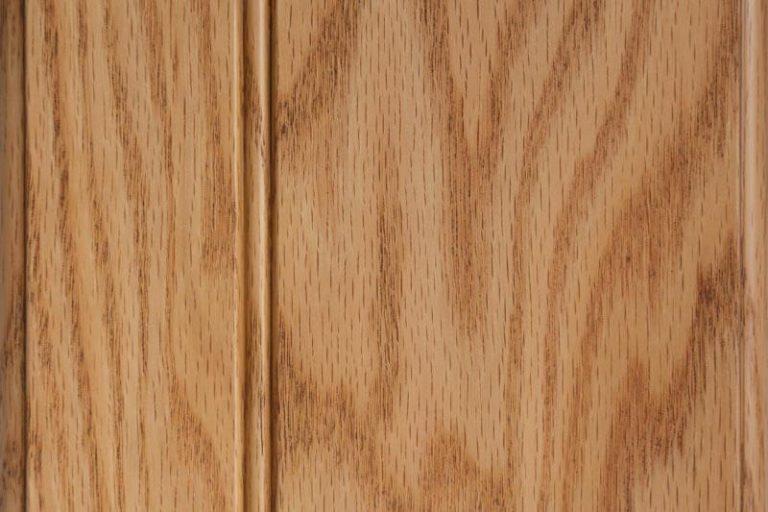Caramel Glazed Stain on Red Oak wood