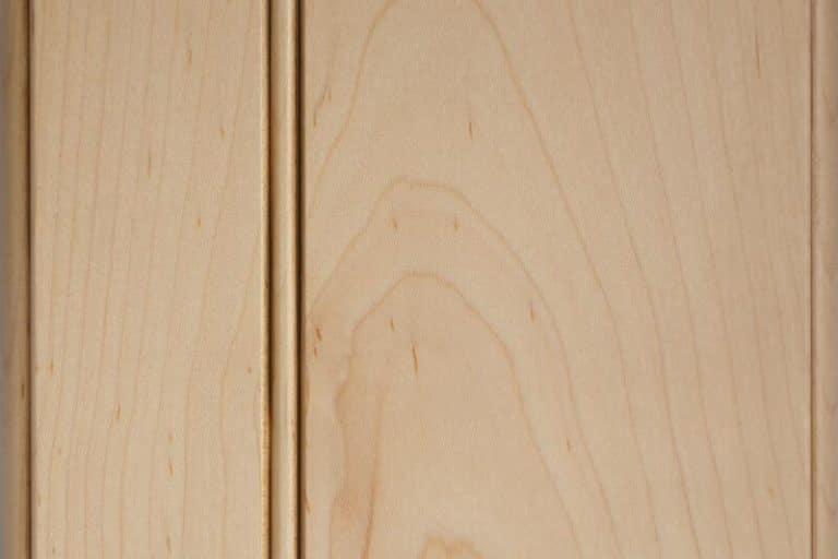 Caramel Glazed Stain on Soft Maple wood
