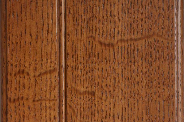 Chestnut Stain on Quarter Sawn White Oak wood