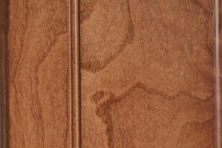 Chestnut Stain on Soft Maple wood
