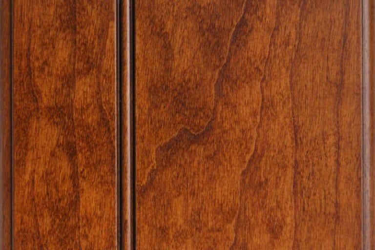 Cinnamon Glazed Stain on Cherry wood