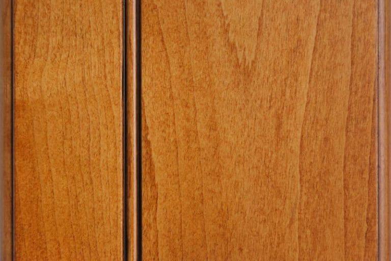 Cinnamon Glazed Stain on Hard Maple wood
