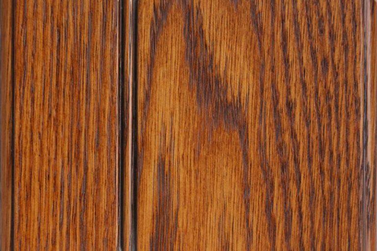 Cinnamon Glazed Stain on Red Oak wood