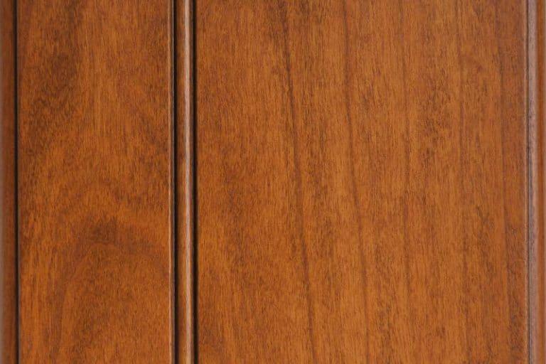 Clove Glazed Stain on Cherry wood