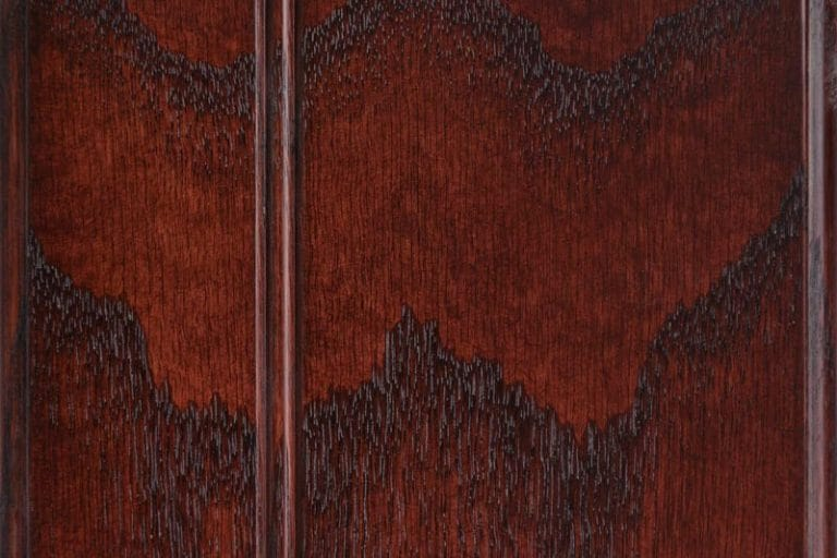 Cordovan Stain on Red Oak wood