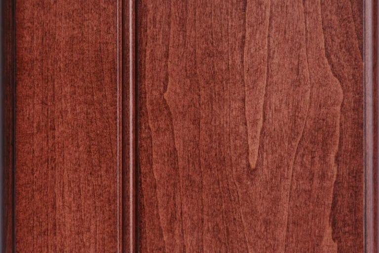 Cordovan Stain on Soft Maple wood