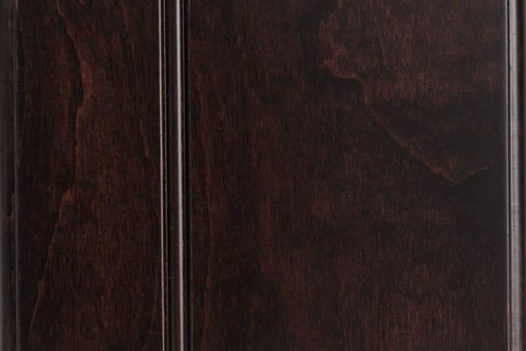 Ebony Stain on Soft Maple wood