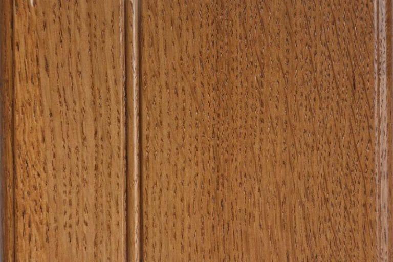 Ginger Stain on Quarter Sawn White Oak wood