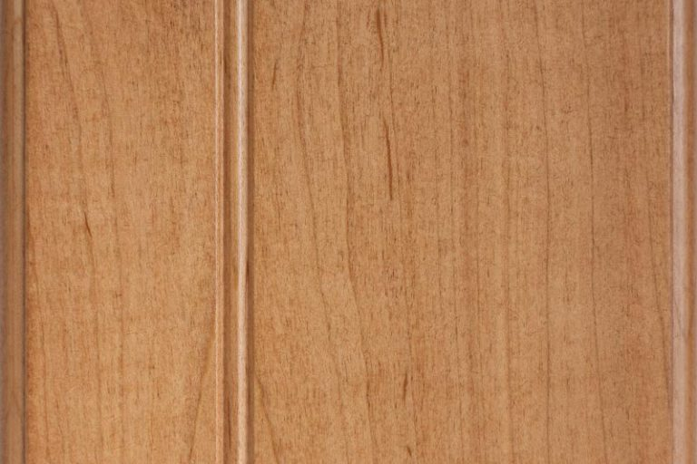 Ginger Stain on Soft Maple wood