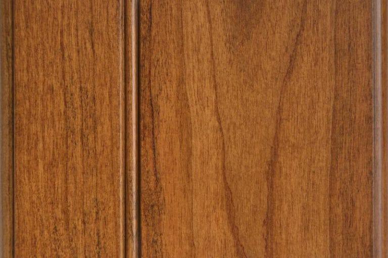 Hazelnut Glazed Stain on Cherry wood