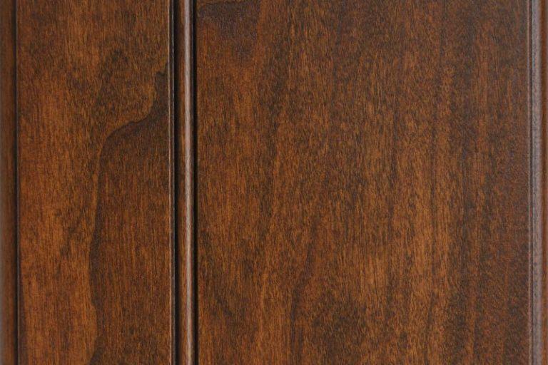 Hearthside Glazed Stain on Cherry wood