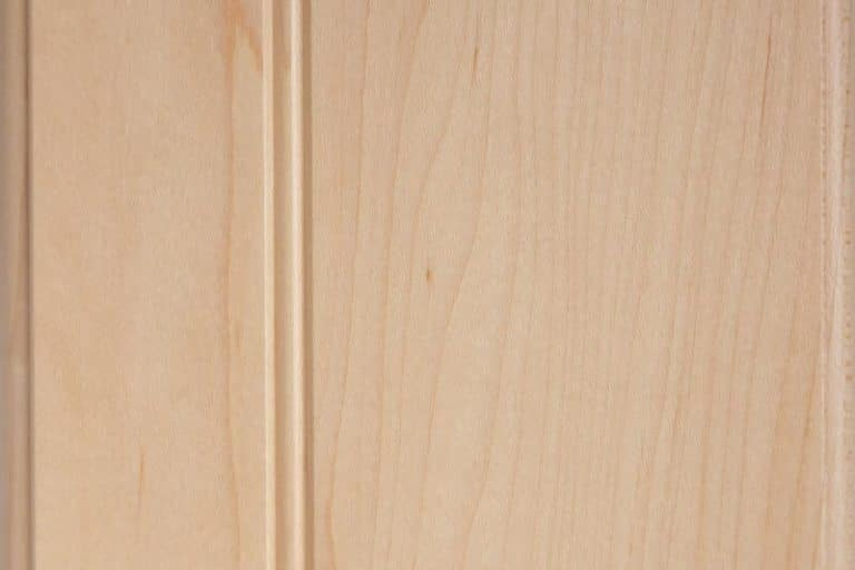 Natural Stain on Hard Maple wood
