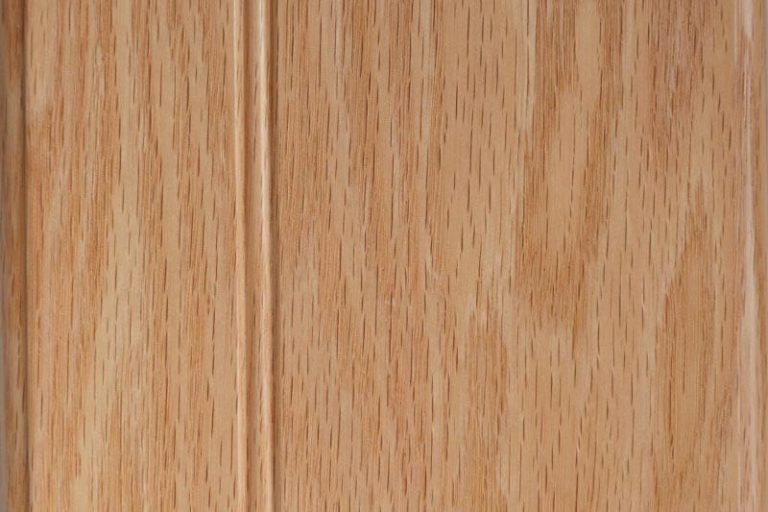 Natural Stain on Red Oak wood