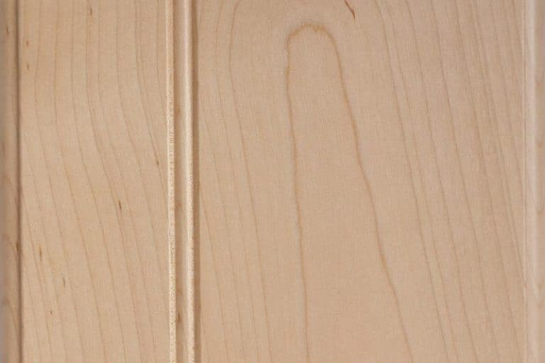 Natural Stain on Soft Maple wood