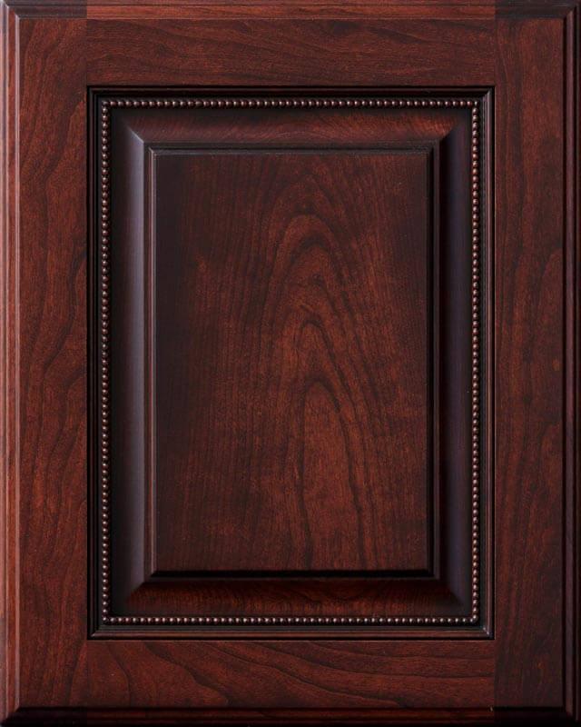 Newport Elite Cherry Glazed door style