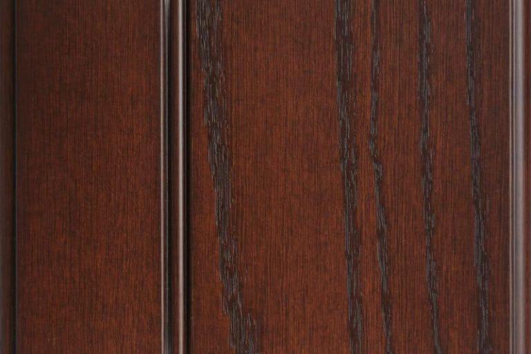Royal Glazed Stain on Red Oak wood