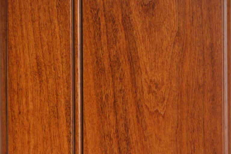 Russett Glazed Stain on Cherry wood