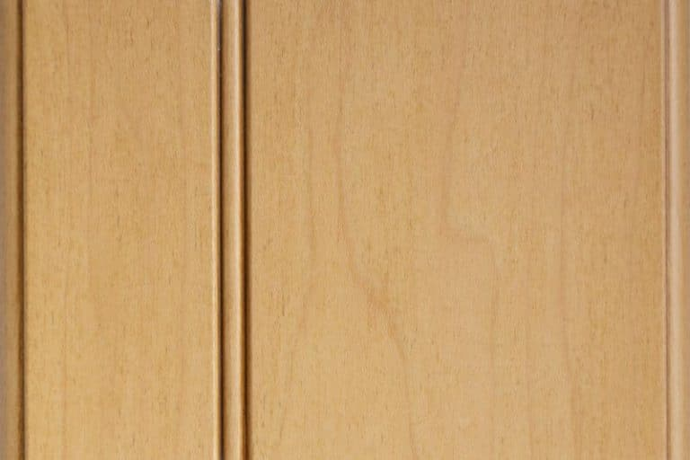 Wheatfield Glazed Stain on Hard Maple wood