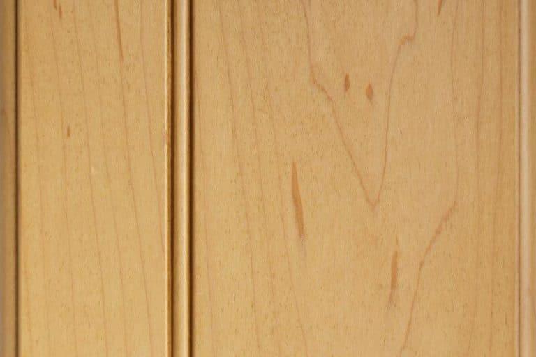 Wheatfield Glazed Stain on Soft Maple wood