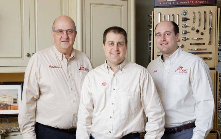 Foxcraft owners: Raymond, Delmas and Arlin Fox