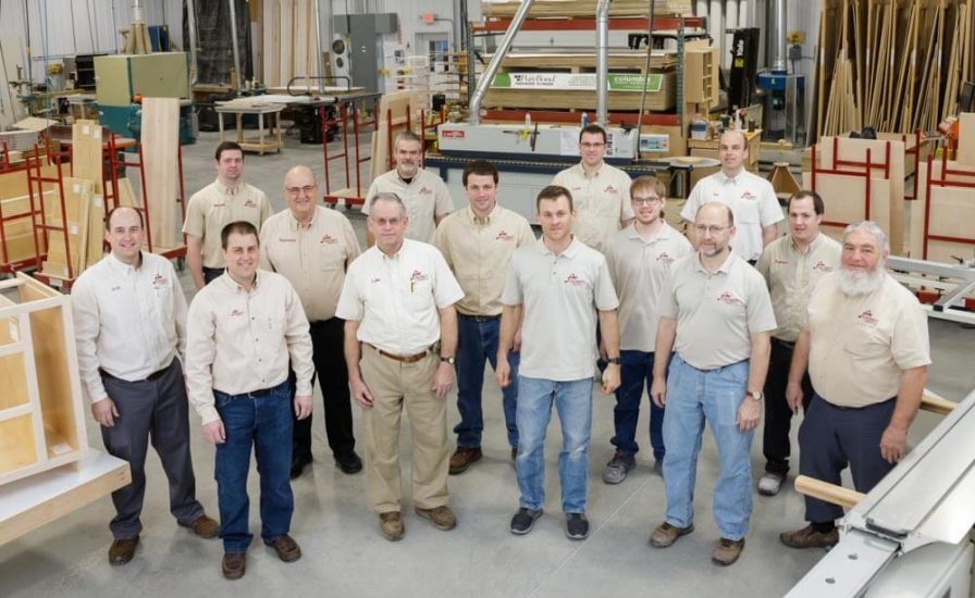 The team at Foxcraft Cabinets