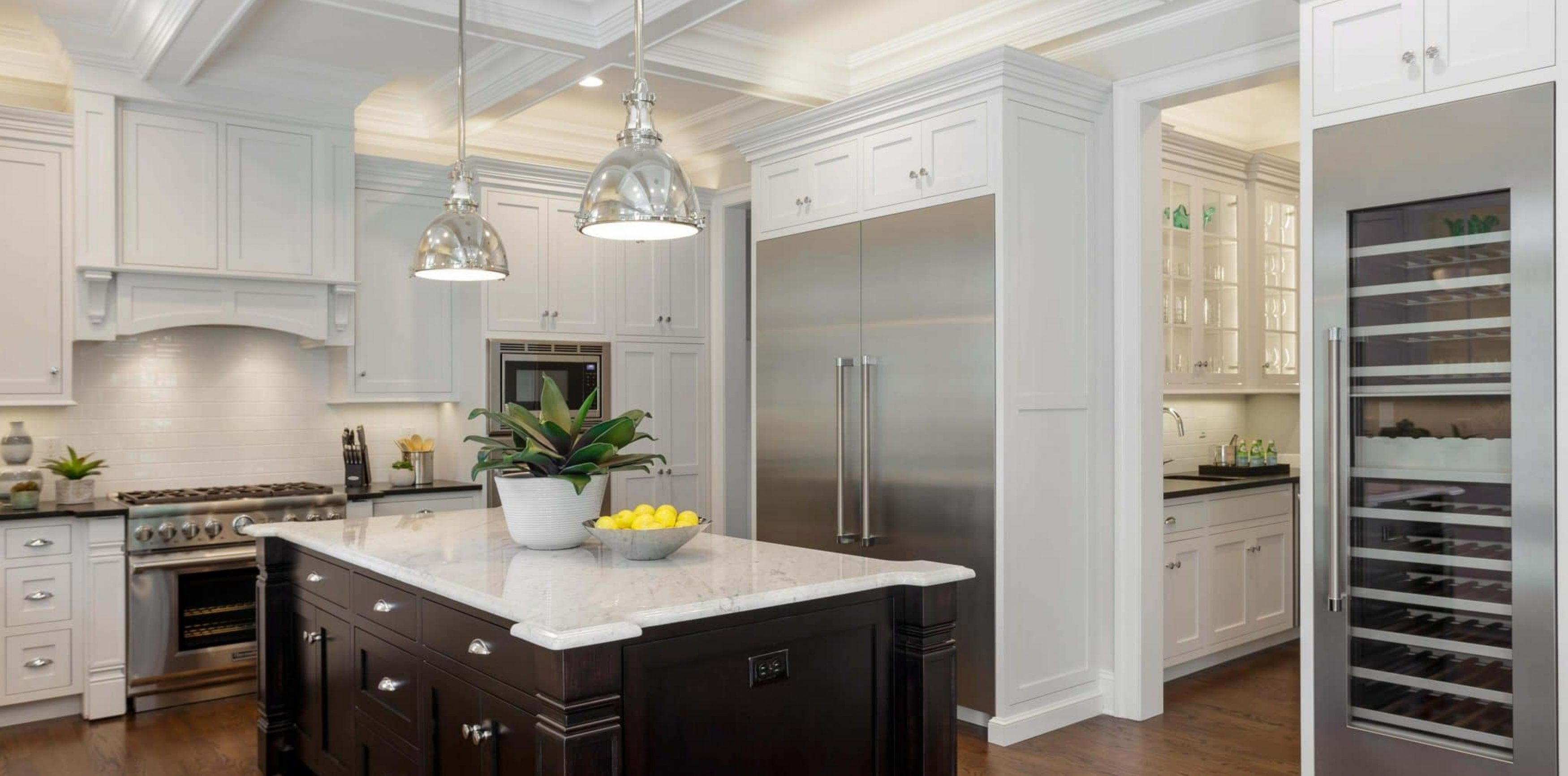 Lantern Collection - white colored kitchen